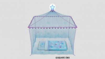 蚊帳つきフトン・紫