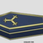 棺桶風のベッド