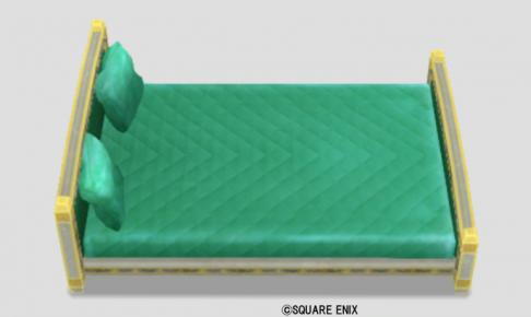 ごうかなベッド・緑