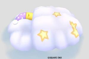 お月様と雲のベッド