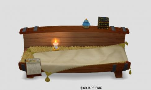 大きなタルのベッド