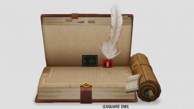 冒険の書のベッド