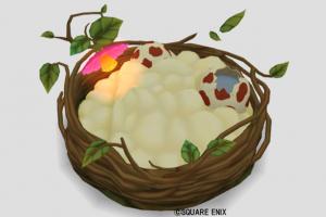 飛竜の巣のベッド