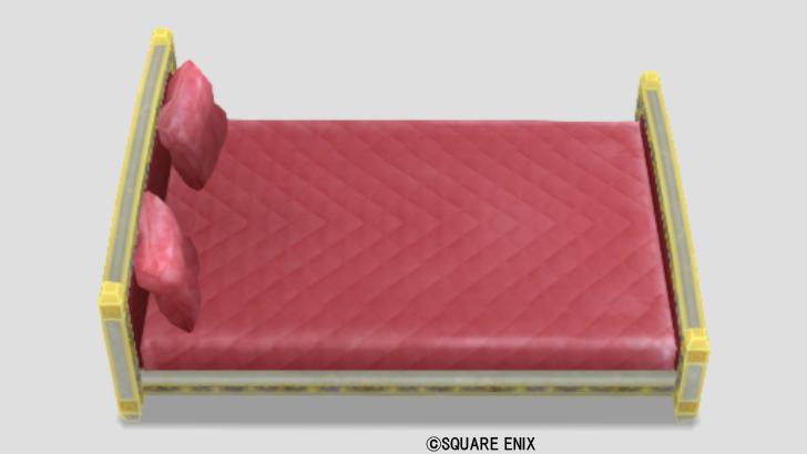 ごうかなベッド・赤