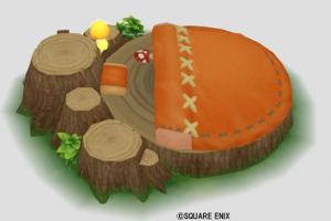 森のこびとのベッド