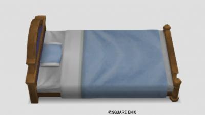 グランゼドーラのベッド