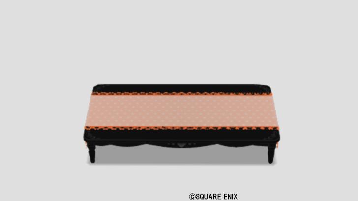 お姫様のテーブル大・橙