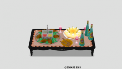 お姫様のパーティ机・橙