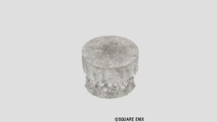 水晶のテーブル小