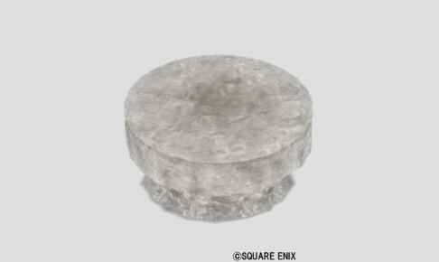 水晶のテーブル大
