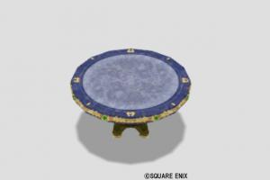 王宮のテーブル小・青
