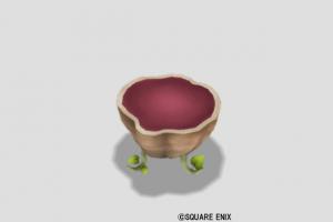 紫イモのテーブル