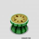 スイカのテーブル・黄