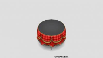チェックテーブル・赤