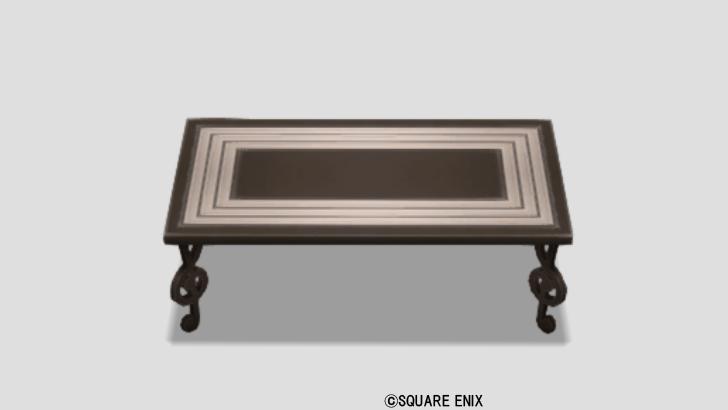 音符のテーブル・黒