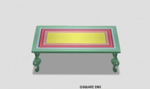 音符のテーブル・彩