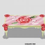 赤バラのテーブル