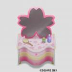 桜花のドレッサー