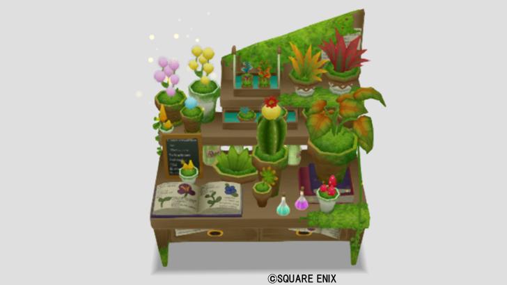 植物学者のテーブル