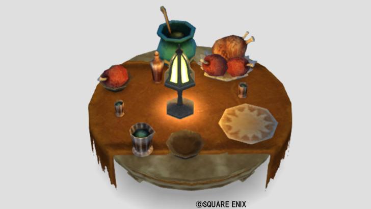 嵐の領界のテーブル