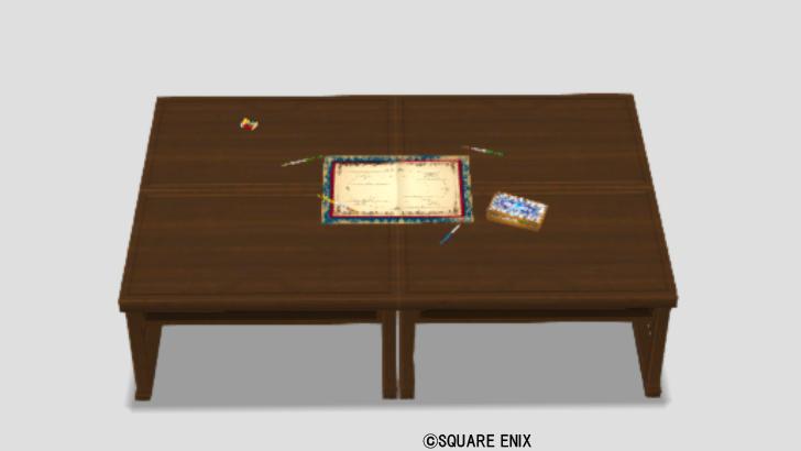 バトエンマニアの机