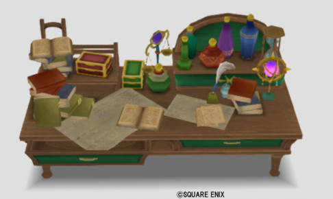 王都キィンベルの机
