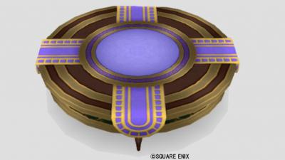 エテーネ王宮のテーブル