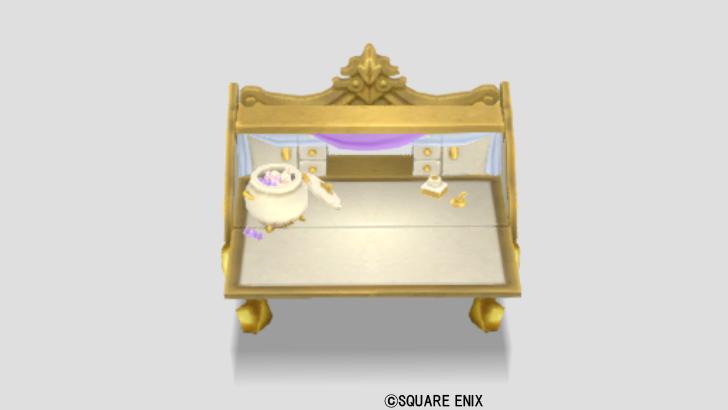 ヴィスタリア姫の机