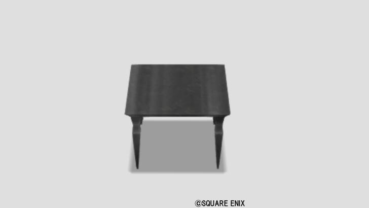 黒曜のテーブル小
