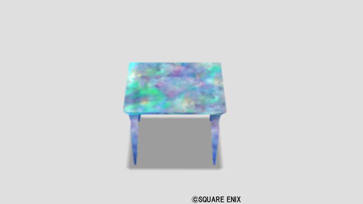 オパールのテーブル小