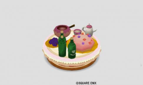 お菓子のパーティ机
