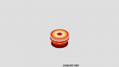 苺お菓子のテーブル小
