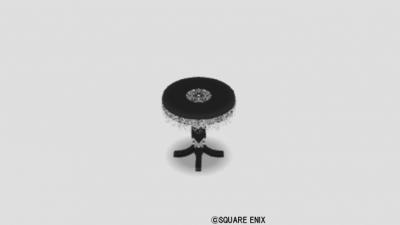 ゴシック調テーブル小