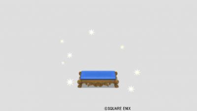 スターの足置き・青