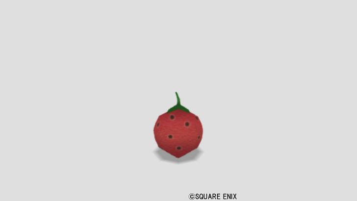 イチゴのクッション