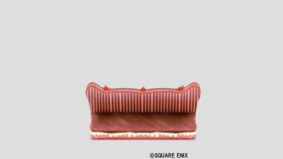 苺お菓子のベンチ
