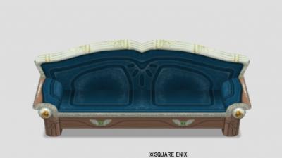 王宮のベンチ・青
