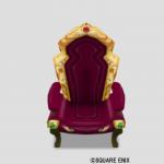 王宮のイス・赤