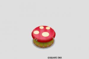赤キノコのイス