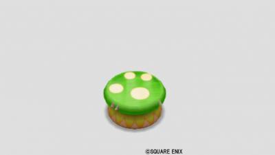 緑キノコのイス