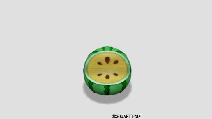 スイカのイス・黄