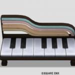 音符のベンチ・黒