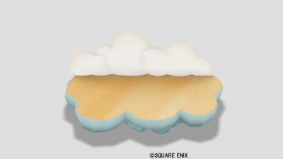 ふわふわ雲のソファ