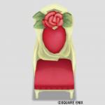 赤バラのイス
