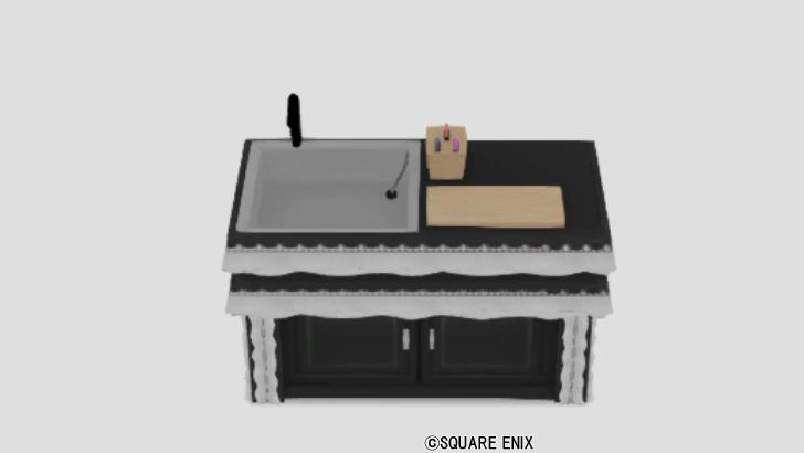 ゴシック調のキッチン