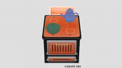 お姫様のオーブン・橙