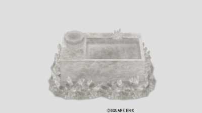 水晶のキッチン