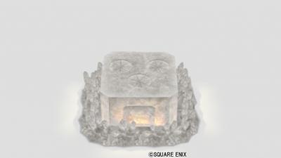 水晶のオーブン