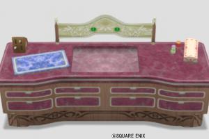 王宮のキッチン・赤