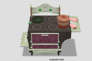王宮のオーブン・赤